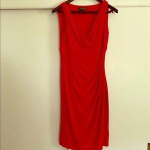 Red Ralph Lauren size 6 P Dress
